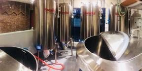 醸造所内の写真