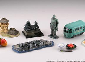 「軍艦島」「熊本城」「西郷隆盛像」 九州7県の名所や文化がフィギュア化