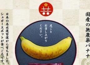 皮ごと「バナナ」が食べられる! 「凍結解凍覚醒法」で日本でも栽培