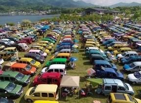 ルノー車好き集まれ 山中湖で「ルノー カングー ジャンボリー 2018」