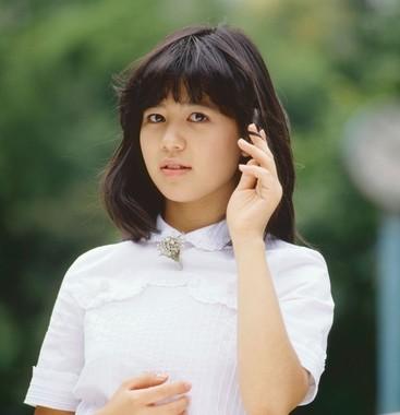 デビュー当時の石野真子さん