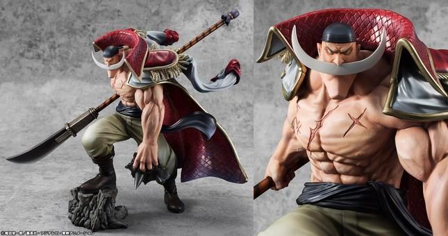 """世界最強の海賊""""白ひげ""""が出陣する姿を超ド級サイズで立体化"""