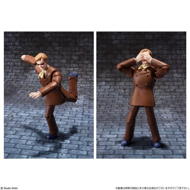 ムスカのポージング例 (C) Studio Ghibli