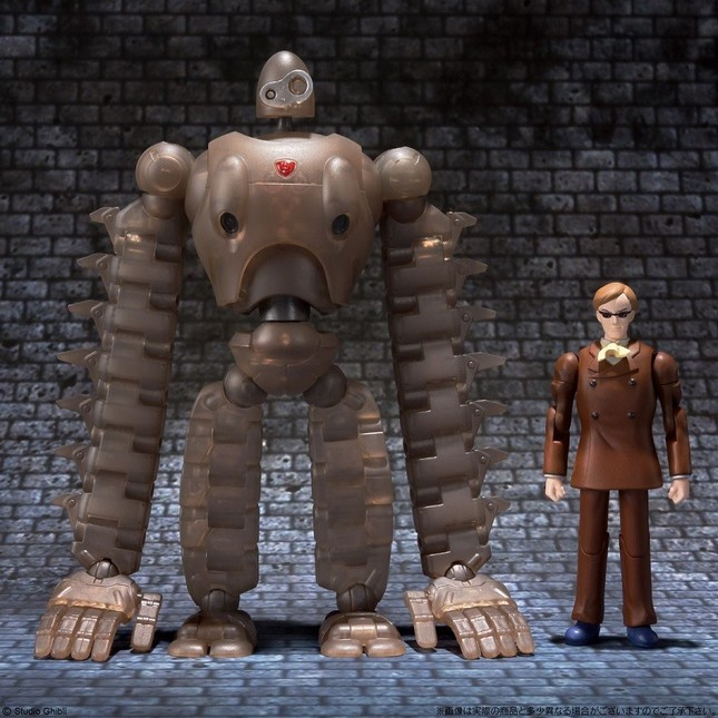 ロボット兵とムスカの並び (C) Studio Ghibli