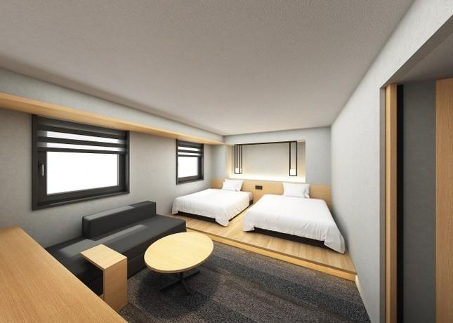 10月1日に開業予定のホテル・アンドルームス新大阪
