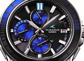 「江戸切子」細工の腕時計1500本限定 カシオ「オシアナス」ブランド新モデル