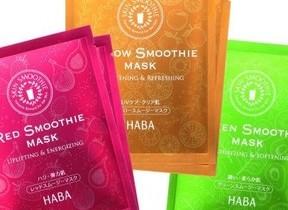 野菜やフルーツの美肌成分を配合 「肌が飲むスムージー」シートマスク