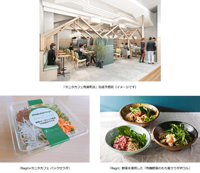 「タニタカフェ有楽町店」完成予想図