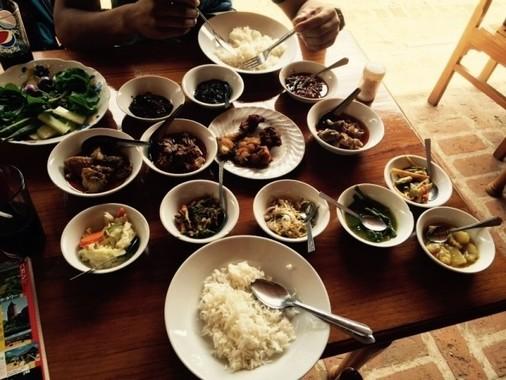 ミャンマー料理の例