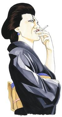 キムラ緑子演じる「お登勢」(c)空知英秋/集英社(c)2018 映画「銀魂2」製作委員会