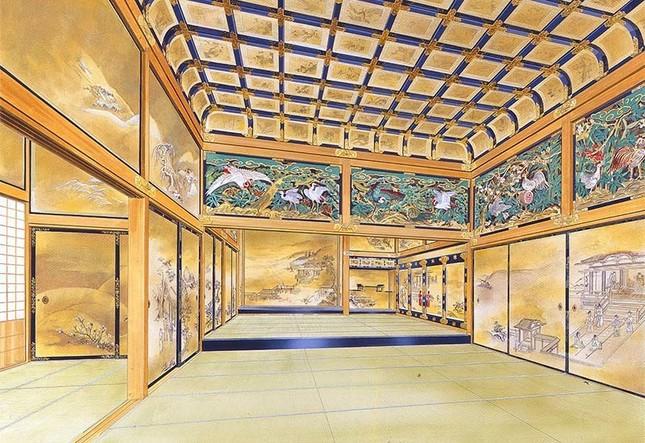 上洛殿内観 完成予想図(c)名古屋市観光文化交流局