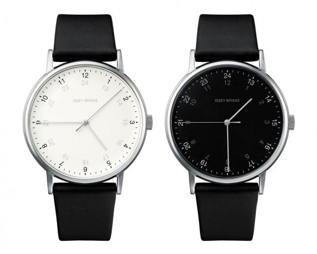 午前と午後 2つの顔を持つ時計