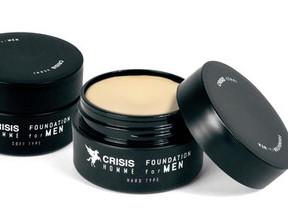 顔のテカリや毛穴をカバー 「CRISIS HOMME」ハードとソフト2つのクリーム