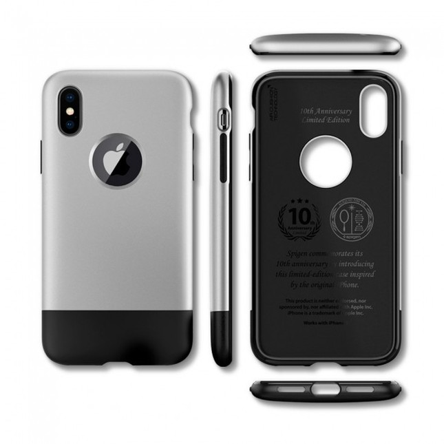 レトロデザインながらiPhone Xをしっかりガード
