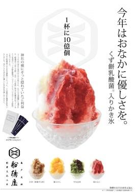 和菓子唯一の発酵食品であるくず餅の乳酸菌を使用