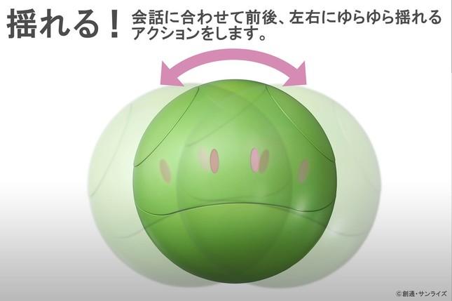 「ガンシェルジュ ハロ」イメージ図