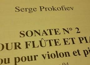 フルートソナタをヴァイオリンソナタに プロコフィエフ「ソナタ 第2番」大成功秘話