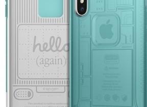「iMac G3」をモチーフ 透けて見えそうなiPhone Xケース
