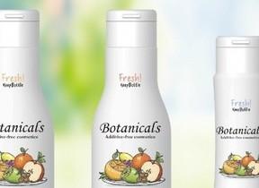 「おしょうゆボトル」採用 無添加ボタニカルスキンケアシリーズ3種