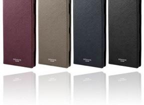 汚れや傷に強いPUレザー採用  「Xperia XZ2」手帳型ケース