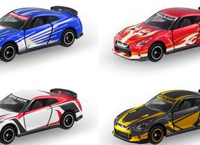 映画「ドライブベッド」コラボデザイン 「日産 GT-R」トミカ全4種