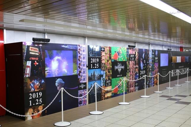 東京メトロ丸の内線・新宿駅「メトロプロムナード」にスペシャルボードが登場