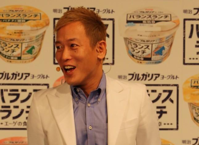 じゅんいちダビットソンさん(写真は2017年撮影)