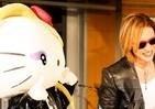 海外4か国で人気投票1位! YOSHIKIと「ハローキティ」のコラボキャラ「yoshikitty」