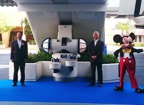 「ミッキーマウスの泡」で手を洗おう 東京ディズニーリゾートに新スポット登場
