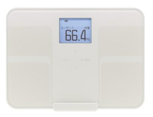 スマートな体組成計を活用、健康でスマートな身体に
