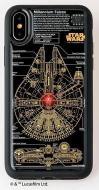 iPhoneの電波を感じ、レーザーキャノン部分が光る