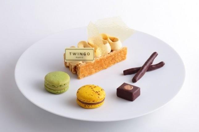 5つの味を楽しめる贅沢プレート