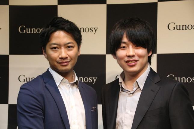 (左)竹谷COO、福島CEO