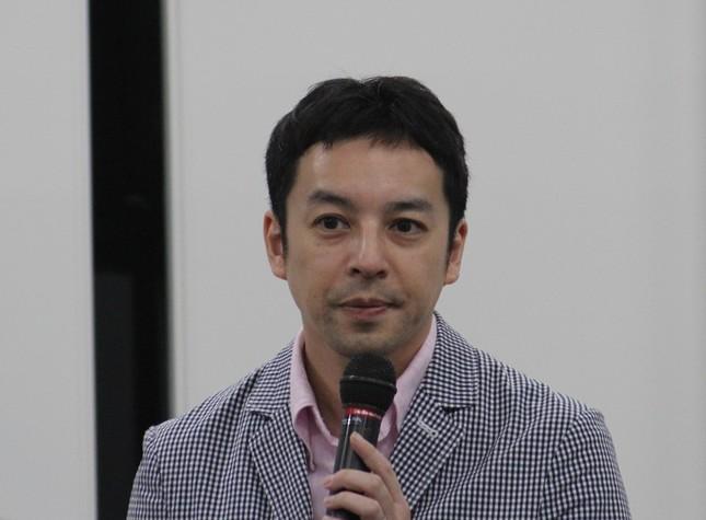 こども国連環境会議推進協会の事務局長の井澤友郭さん