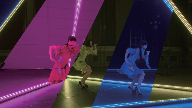 「Perfume」が出演した、NTTドコモの「FUTURE-EXPERIMENT VOL.01 距離をなくせ。」