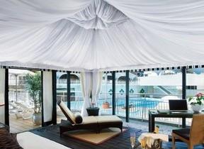 ガーデンプールのプライベートコテージ付き宿泊プラン