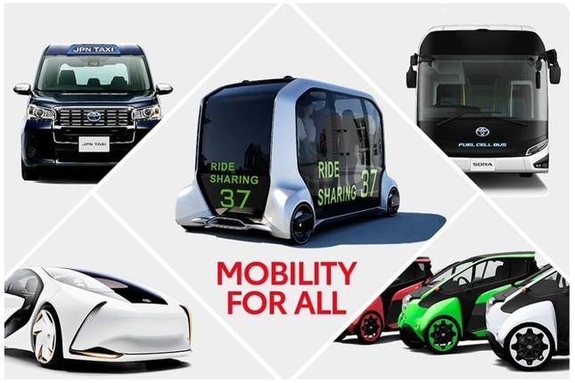 東京2020大会に最先端モビリティを提供