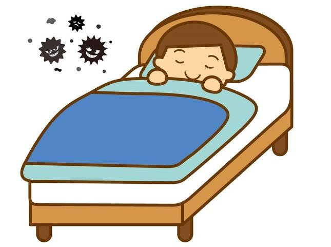 ひと晩寝ただけでも菌の数は4倍に増える (画像はイメージ)