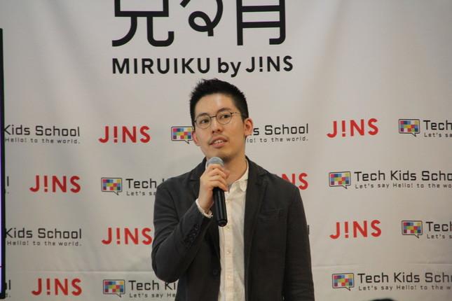 JINSブランドマネジメント室事業統括リーダー・田中亮さん