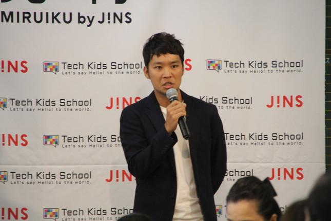 CA Tech Kids・上野朝大社長