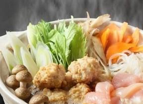 南部どりと国産フレッシュ野菜を使用 「南部どり鍋だんご」