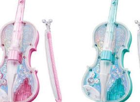 バイオリンの基本が身につく玩具 練習曲にディズニー7曲を用意