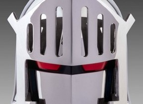 「キン肉マン」の超人「ロビンマスク」 ステンレス鋼製マスク