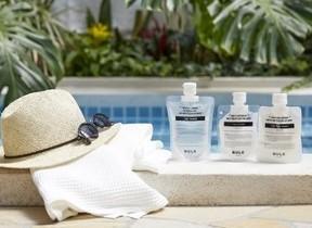 沖縄の紫外線から肌を守ろう 「BULK HOMME」宿泊プラン