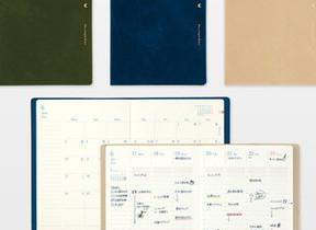 日の出・日の入りをグラデーションで表現 「日の長さを感じる手帳」