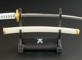 「ワンピース」ゾロとローの愛刀モチーフ ペーパーナイフ全4種
