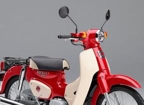 ホンダ「スーパーカブ」60周年記念モデル 特別なカラーリング