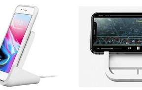 アップルと共同開発 「Qi」対応iPhoneをワイヤレス充電できるスタンド