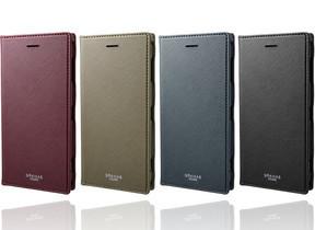 「Xperia XZ2 Premium」向けPUレザーケース オートスリープにも対応