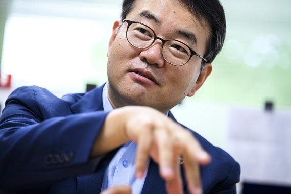 ある日、静脈産業の経営者に在日韓国・朝鮮人が多いことに気がついた。そしてなぜ、東北地方に有力企業があるのか? 劉庭秀教授の調査がはじまった(写真 菊地健志、以下同)
